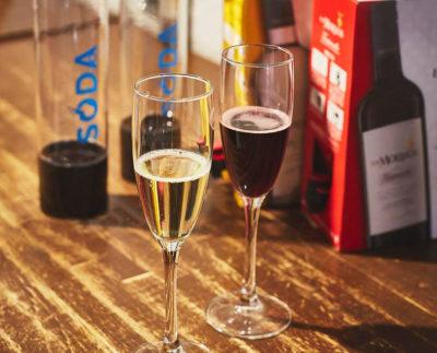 赤・白・ロゼ!箱ワインで作る生スパークリングワイン